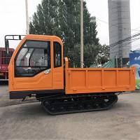 江蘇水田履帶運輸車 多用途小型橡膠鏈條運輸車 實用款翻斗車